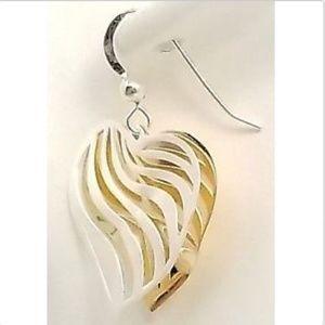 Jewelry - Sterling silver heart earring & necklace set